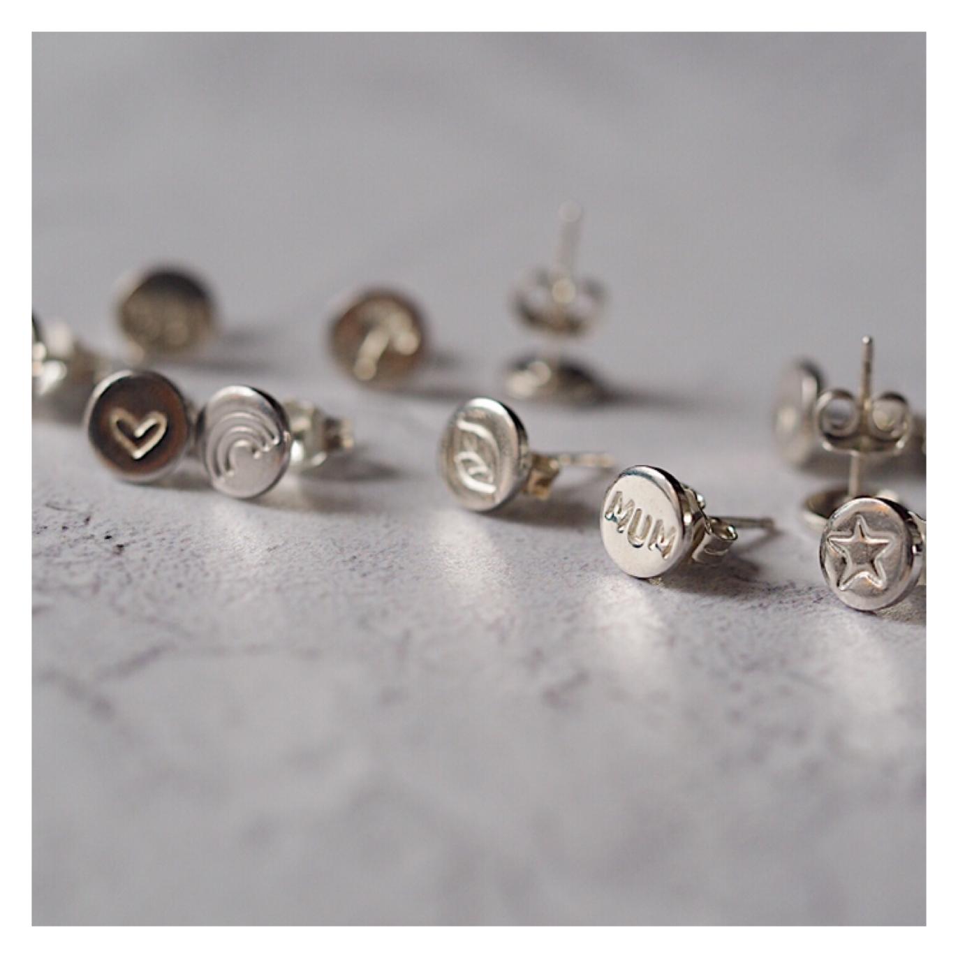 Design Your Own Sterling Silver Earrings *SINGLES* DYOSINGEAR