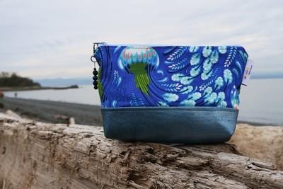 Large Cork Carry Case Jellyfish