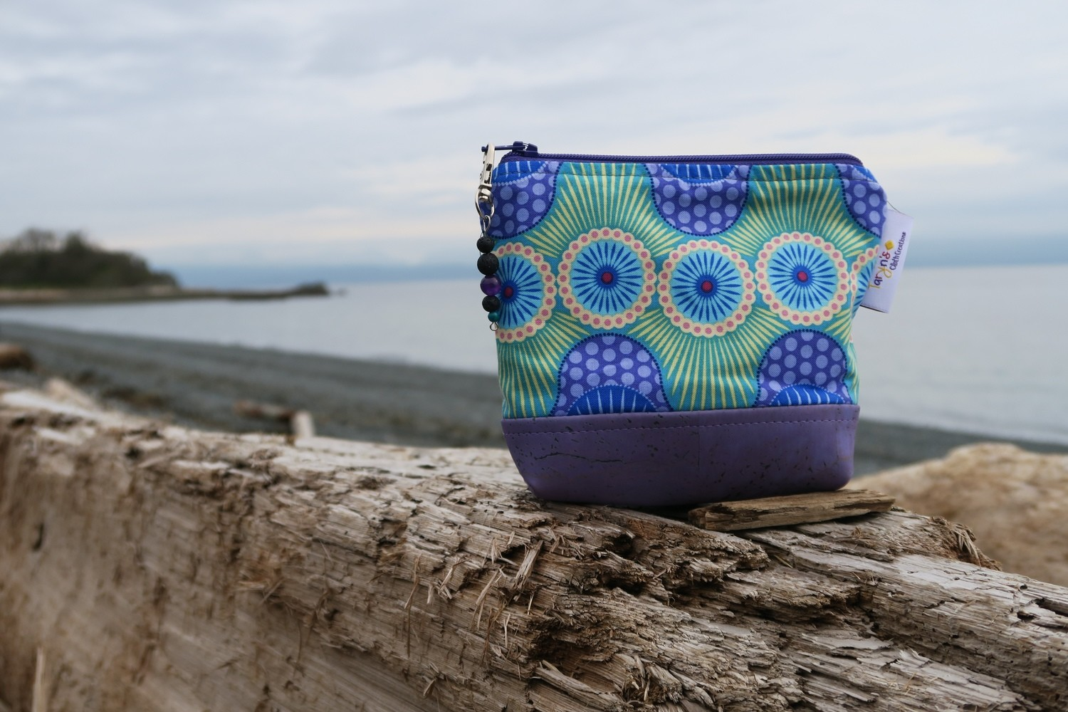 Small Carry Case -Purple Wave