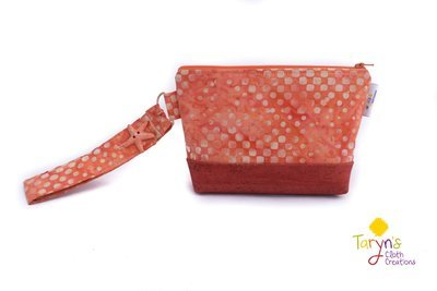 Large Cork Carry Case with Handle -Orange
