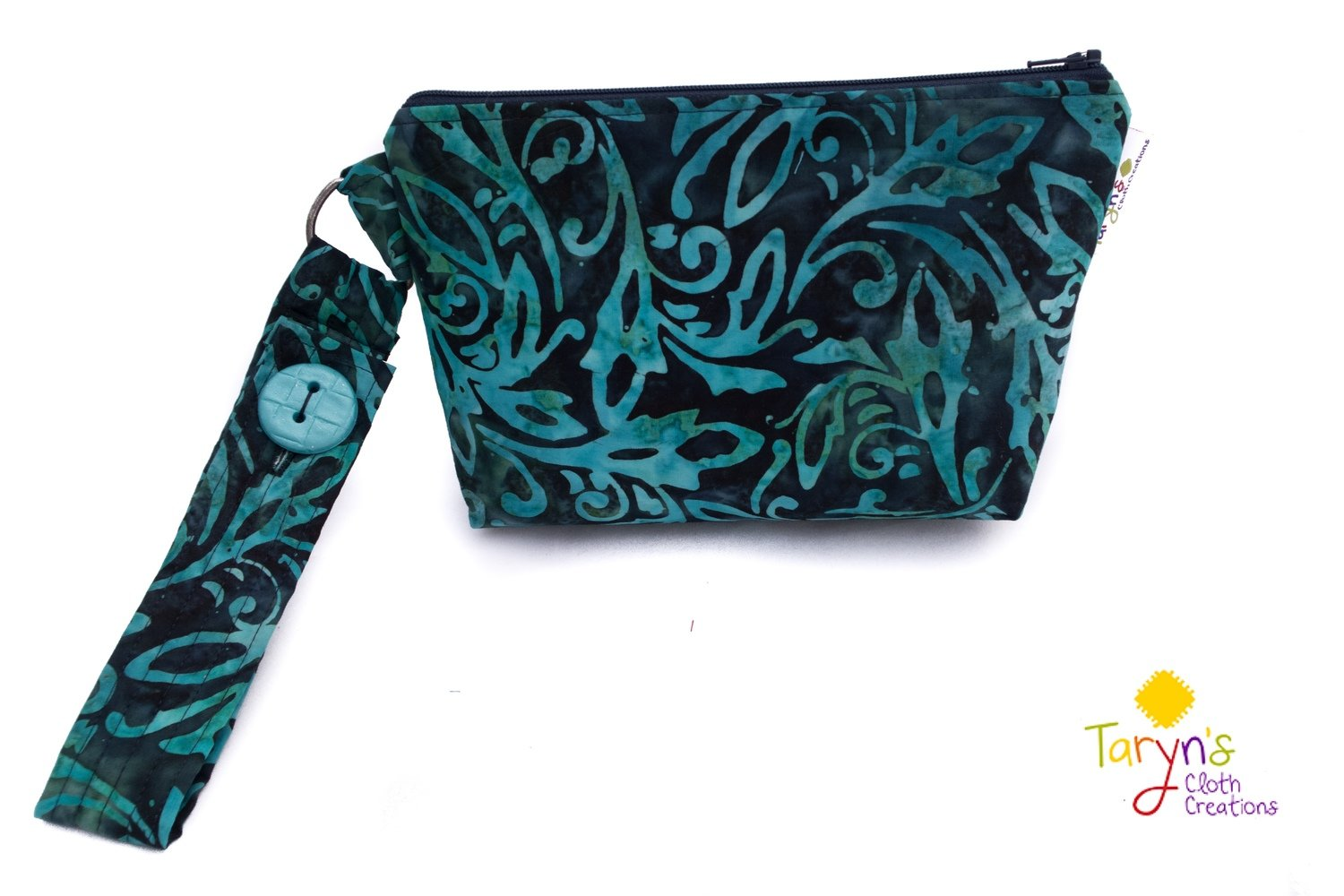 Large Essential Oil Carry Case Leaf Print