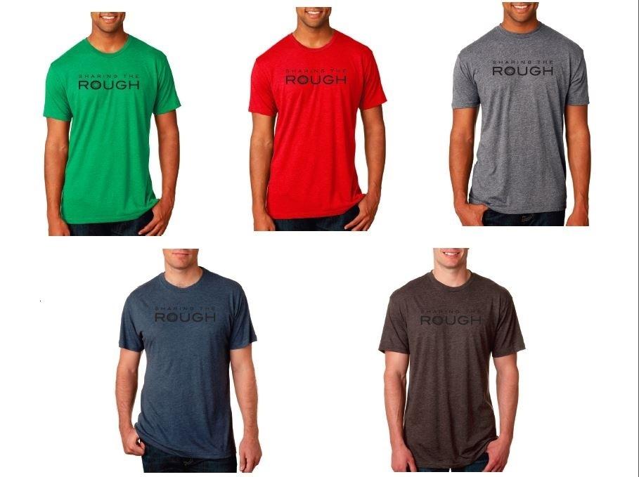 Sharing the Rough Men's Logo T-shirt