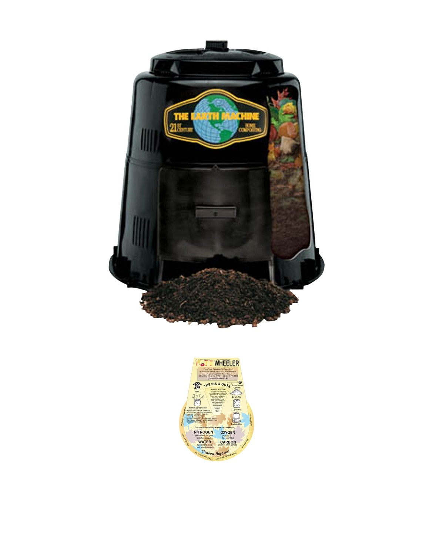 Earth Machine Backyard Compost Bin *Includes the Rottwheeler
