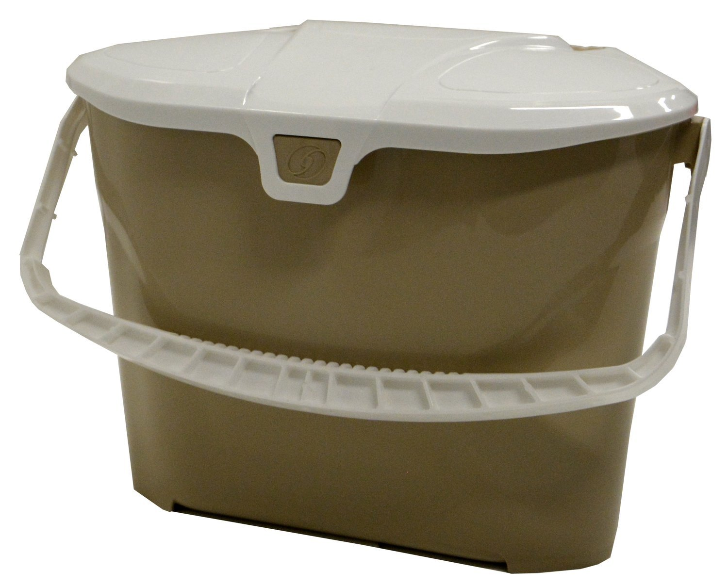 Tan Compost Collection Container