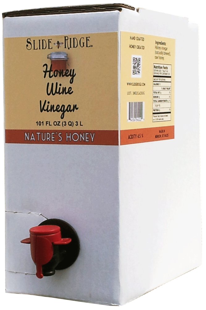 Natures Honey - Honey Wine Vinegar 3 Liter