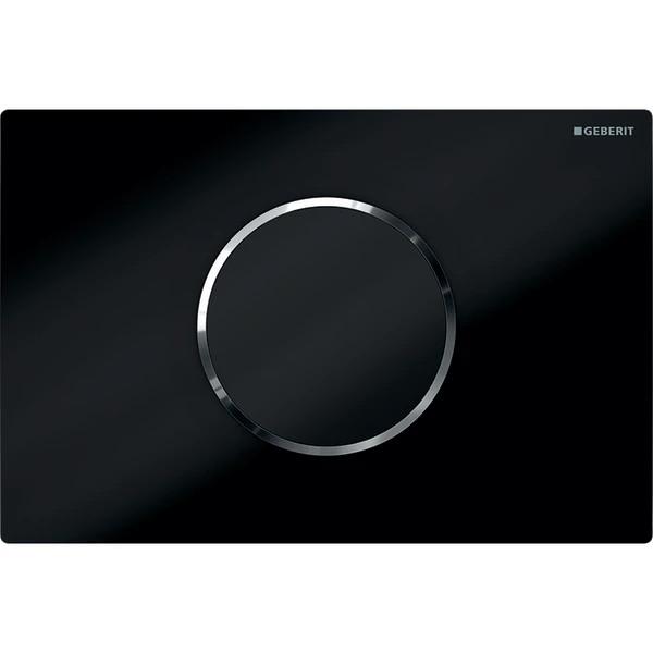Plaque de déclenchement infrarouge Geberit Sigma10 / Noir
