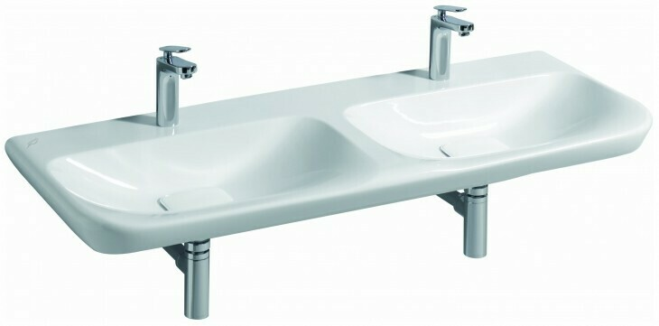 Lavabo double Keramag myDay 130 cm
