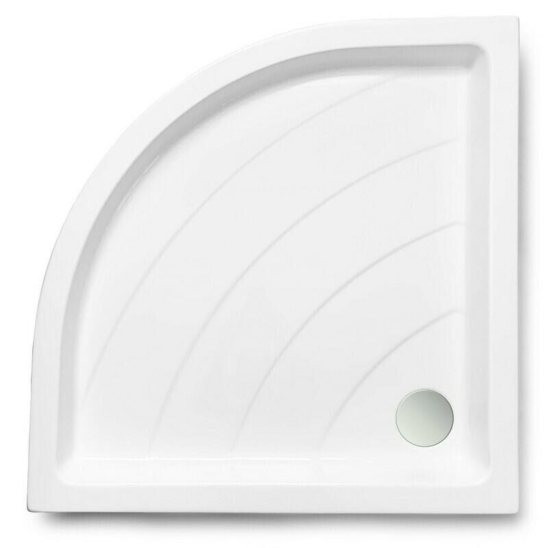 Receveur d'angle Java 90 x 90 cm sans vidage