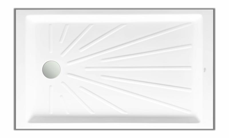 Receveur Extenso de (110 à 180 cm) x 80 cm sans vidage