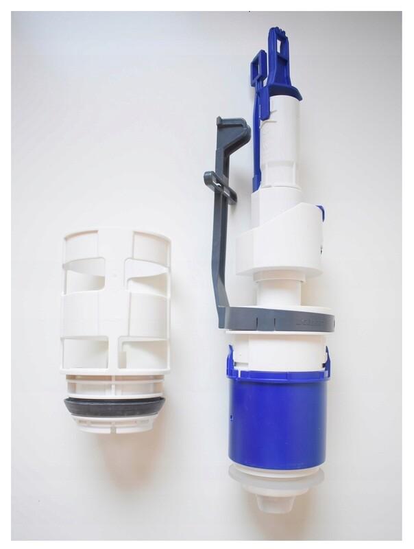 Cloche avec bassin pour réservoir à encastrer  Geberit Delta 12 cm et Sigma 12 cm