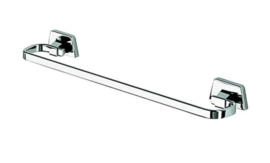 Porte-serviette Geesa 50 cm en laiton chromé - Garantie 5 ans