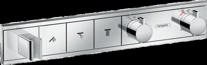 RainSelect Module thermostatique encastré avec 3 fonctions