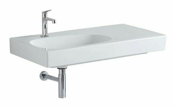 Plan-vasque Geberit Citterio 90 cm