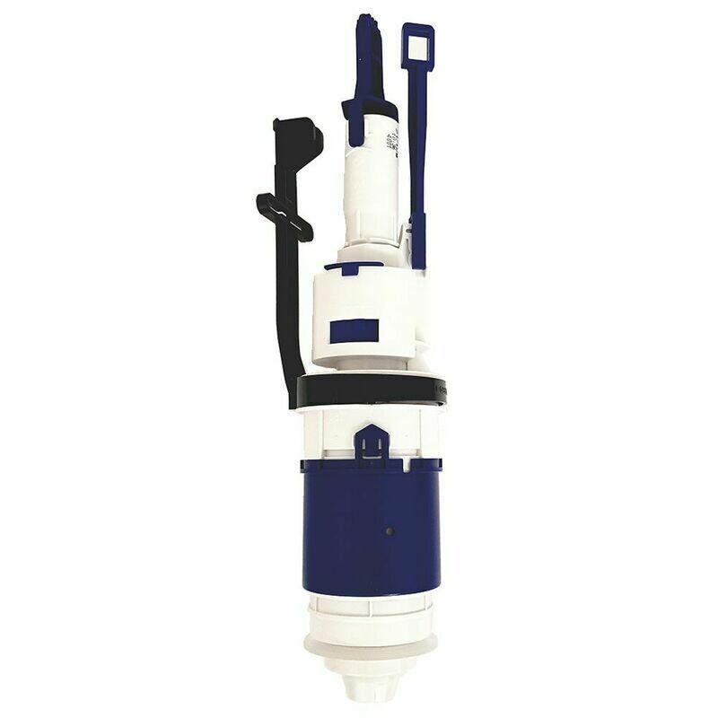 Cloche sans bassin pour réservoir à encastrer  Geberit Delta 12 cm et Sigma 12 cm
