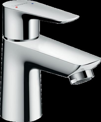 Mitigeur de lavabo Hansgrohe Talis E 80 en laiton chromé avec tirette et vidage