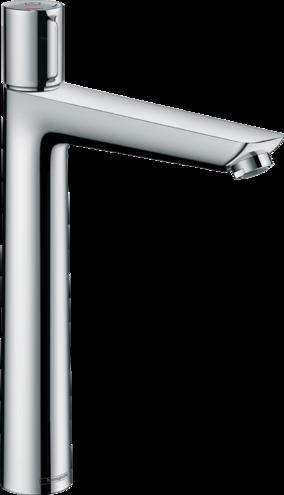 Mitigeur de lavabo Hansgrohe Talis Select E 240 en laiton chromé avec tirette et vidage