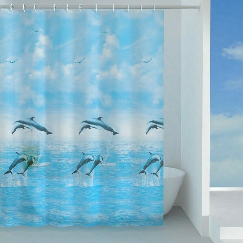 Rideau de douche Jump 180 x 200 cm