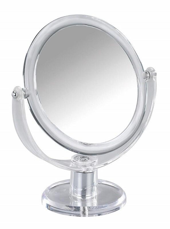 Miroir agrandissant Oval à poser sur pied