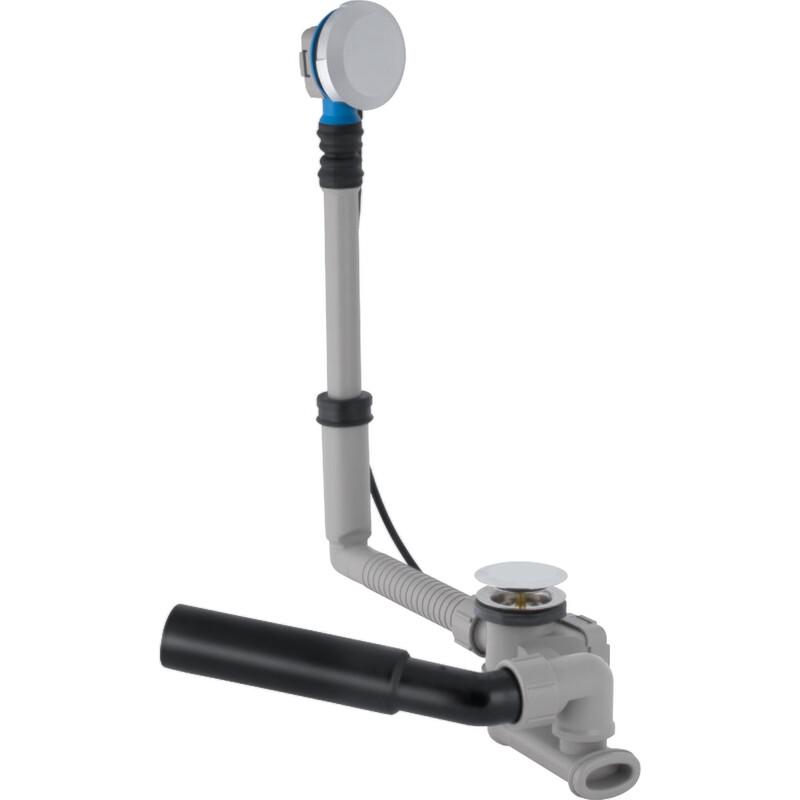 Vidage de baignoire Geberit diamètre 52 avec actionnement rotatif et kit de finition