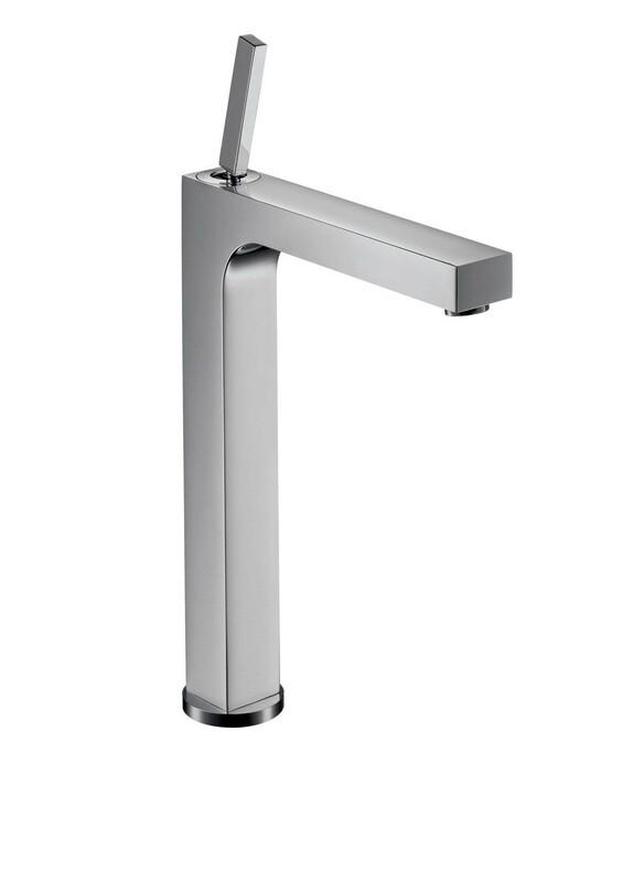 Mitigeur de lavabo Citterio 280 surélevé pour vasque libre avec tirette et vidage