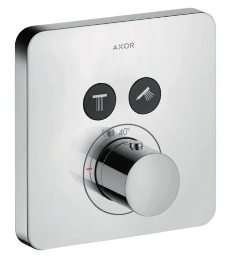 Set de finition pour mitigeur thermostatique AXOR ShowerSelect SoftCube encastré