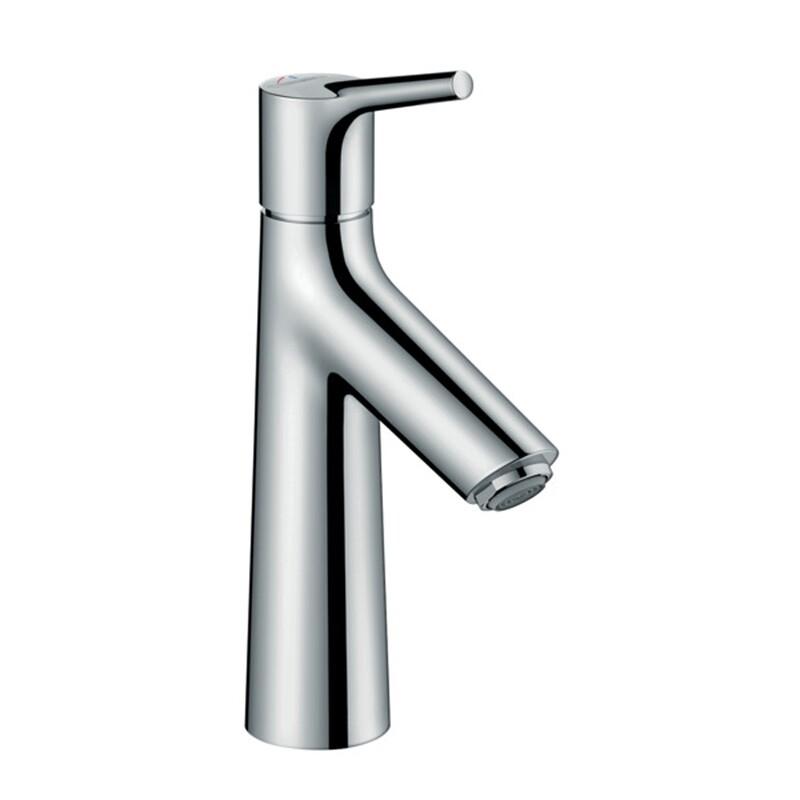 Mitigeur de lavabo Hansgrohe Talis S 100  CoolStart en laiton chromé avec tirette et vidage