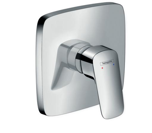 Set de finition carré pour mitigeur de douche encastré Logis