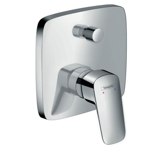 Set de finition pour mitigeur de bain / douche encastré Hansgrohe Logis