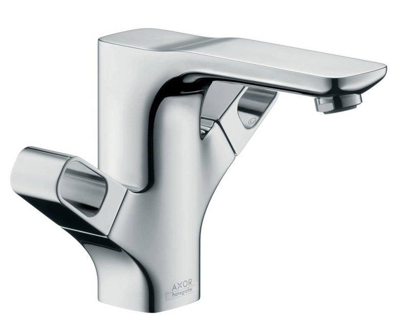 Mélangeur de lavabo AXOR Urquiola 120 avec tirette et vidage