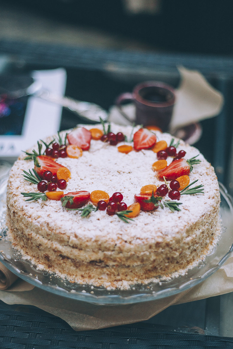 Торт «Наполеон» 1.5 кг. 00016