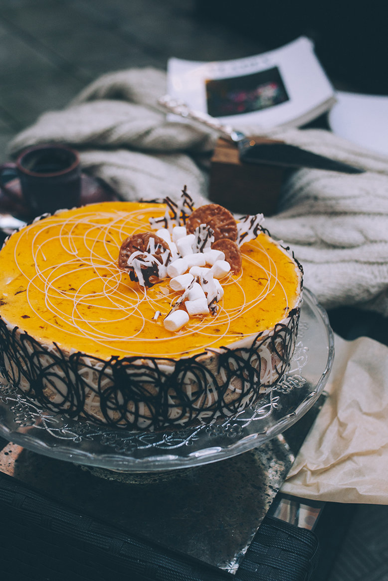 Торт «Нуга - Гляссе»  1,5 кг. 00017