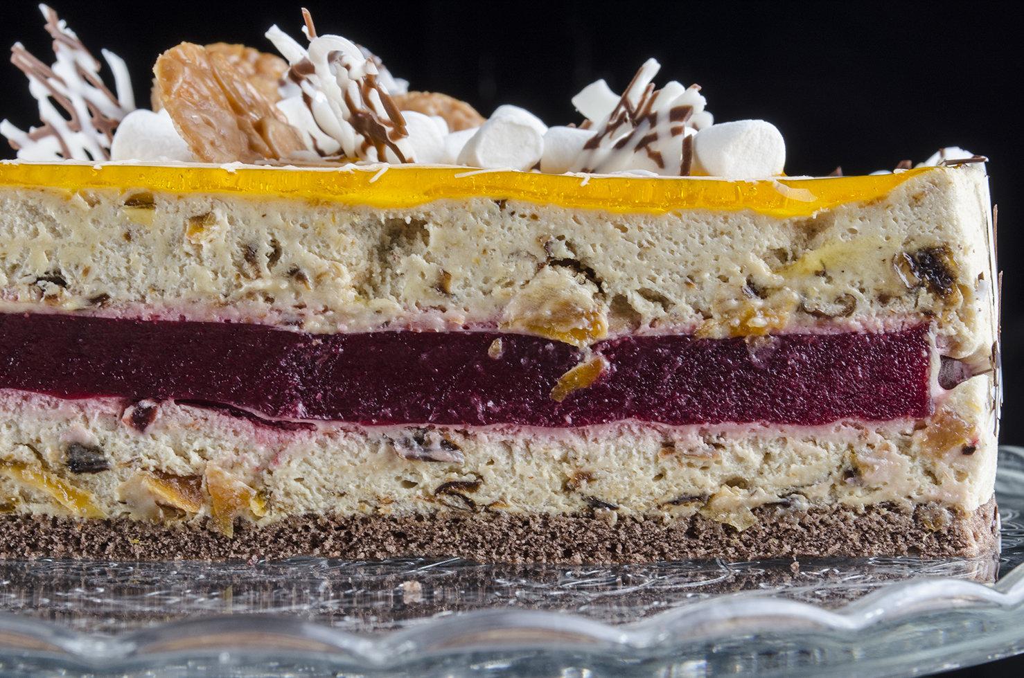 Торт «Нуга - Гляссе»  1,5 кг.