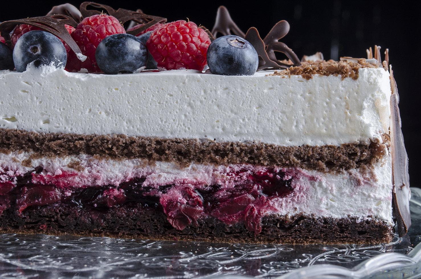 Торт «Черный Лес» 1.5 кг.