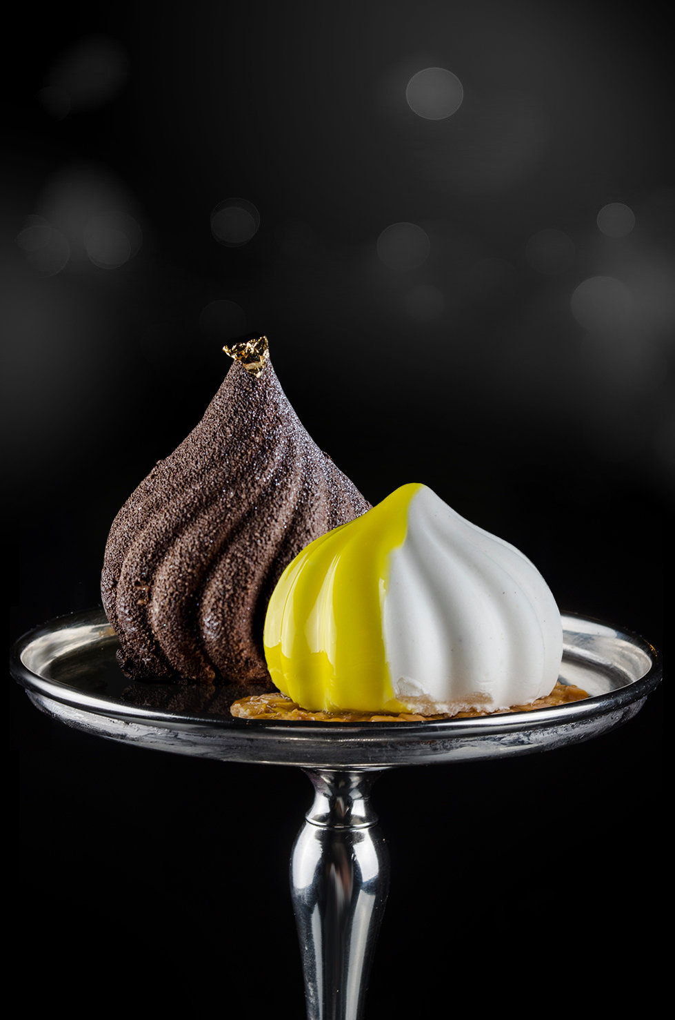 Набор муссовых пирожных «Два оттенка праздника» 00046