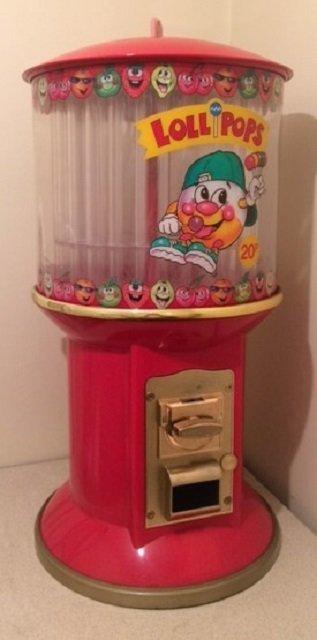 Classic Chupa Chup Vending Machine