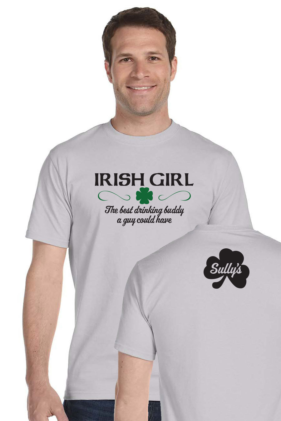 Irish Girl - gray