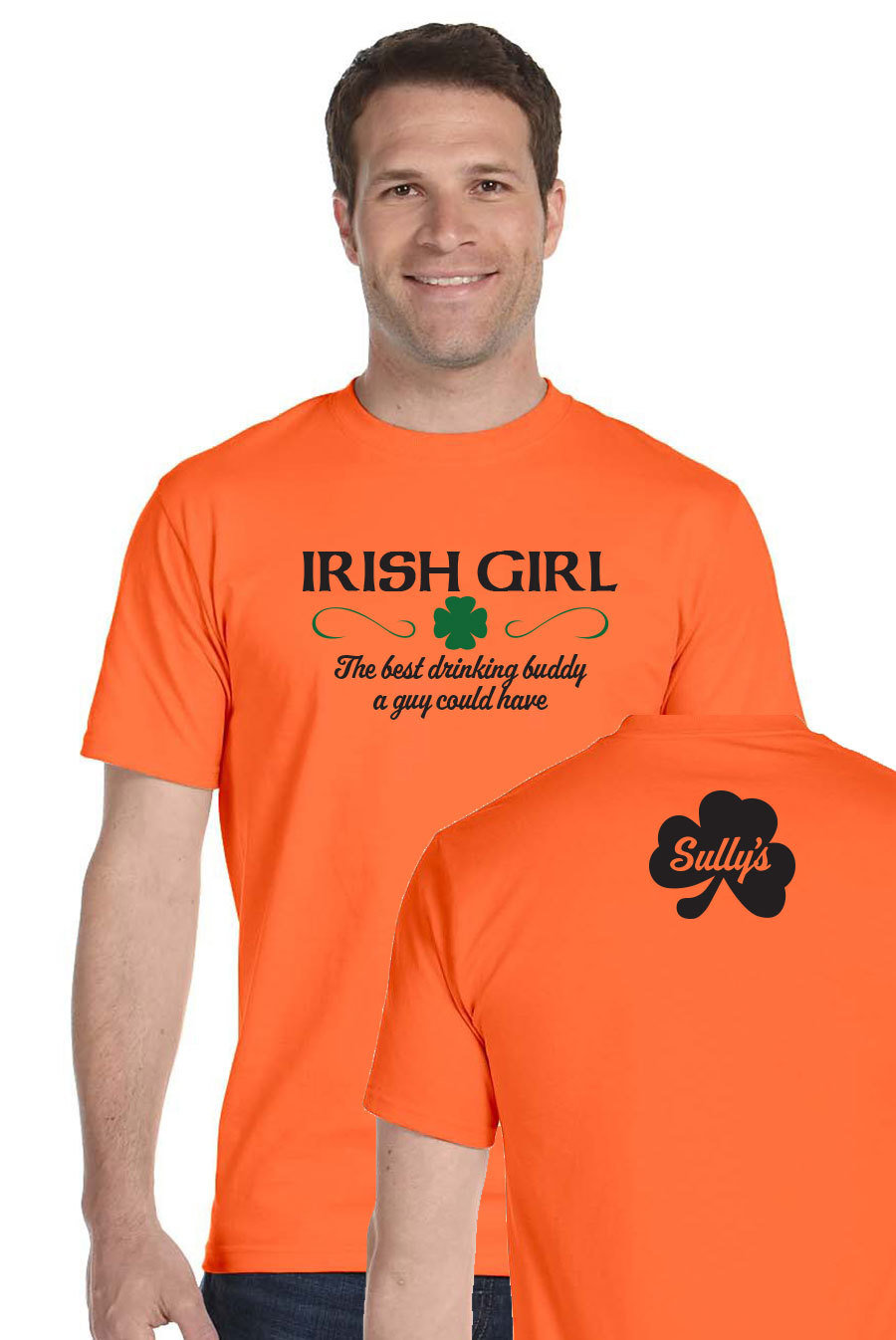 Irish Girl - orange