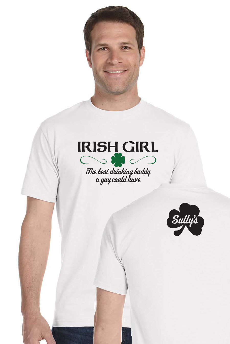 Irish Girl - white