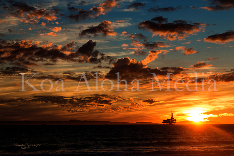 PRINT 2205: Catalina Sunset 13016