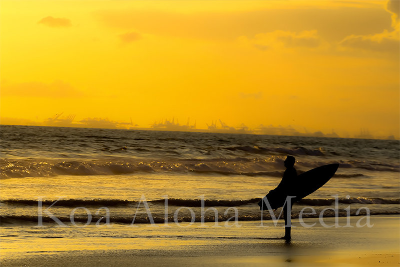 PRINT 2580: Lone Surfer 13053