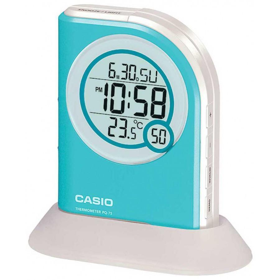 Reloj Despertador Casio digital PQ-75-2D con linterna