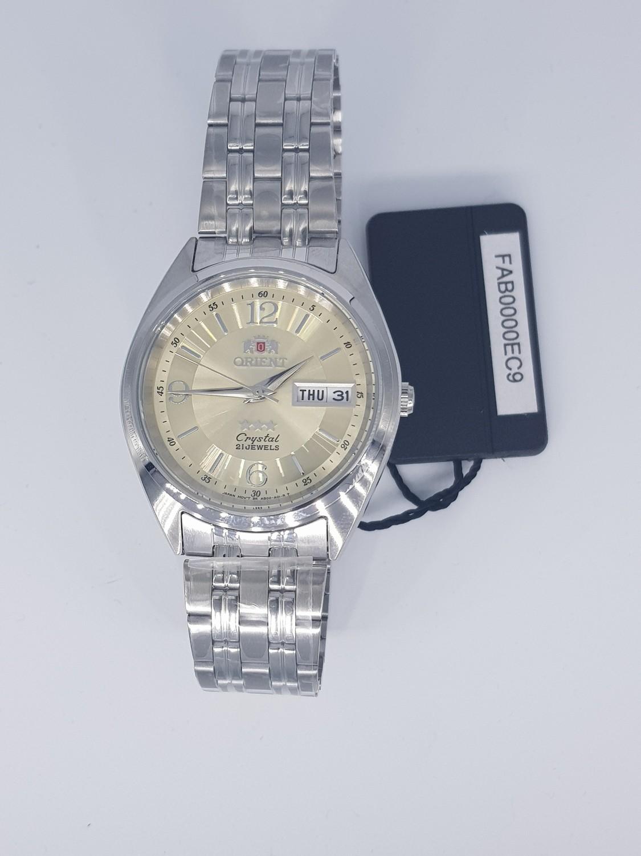 reloj automático hombre Orient 3 Star FAB0000EC dorado - plateado acero inoxidable