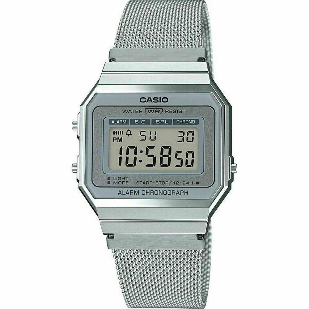 RELOJ Casio Vintage Silver A700WM-7AV