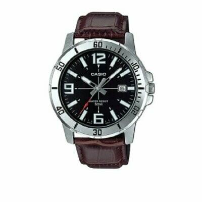 Reloj analogico caballero CASIO MTP-VD01L-1BV correa de piel