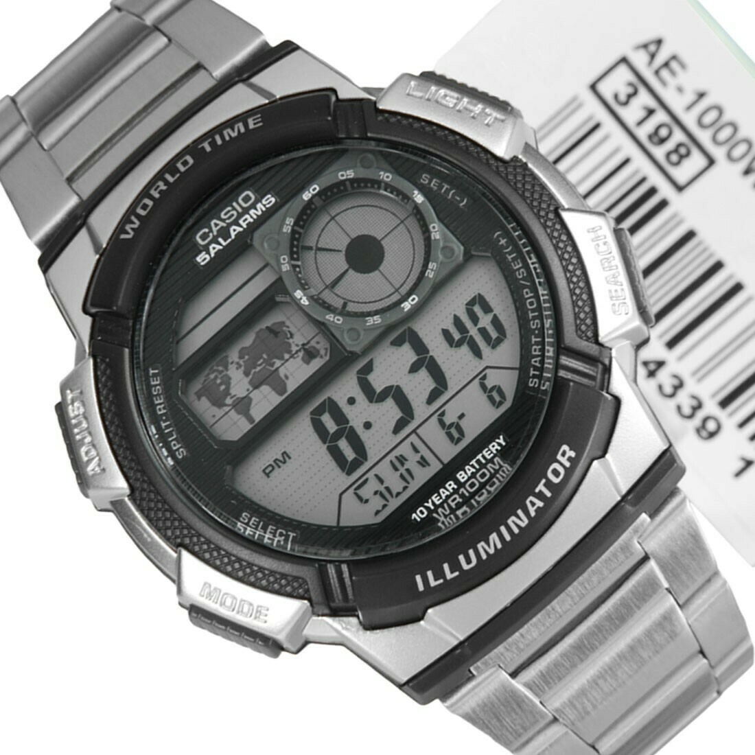 Reloj digital CASIO caballero AE-1000WD-1AV
