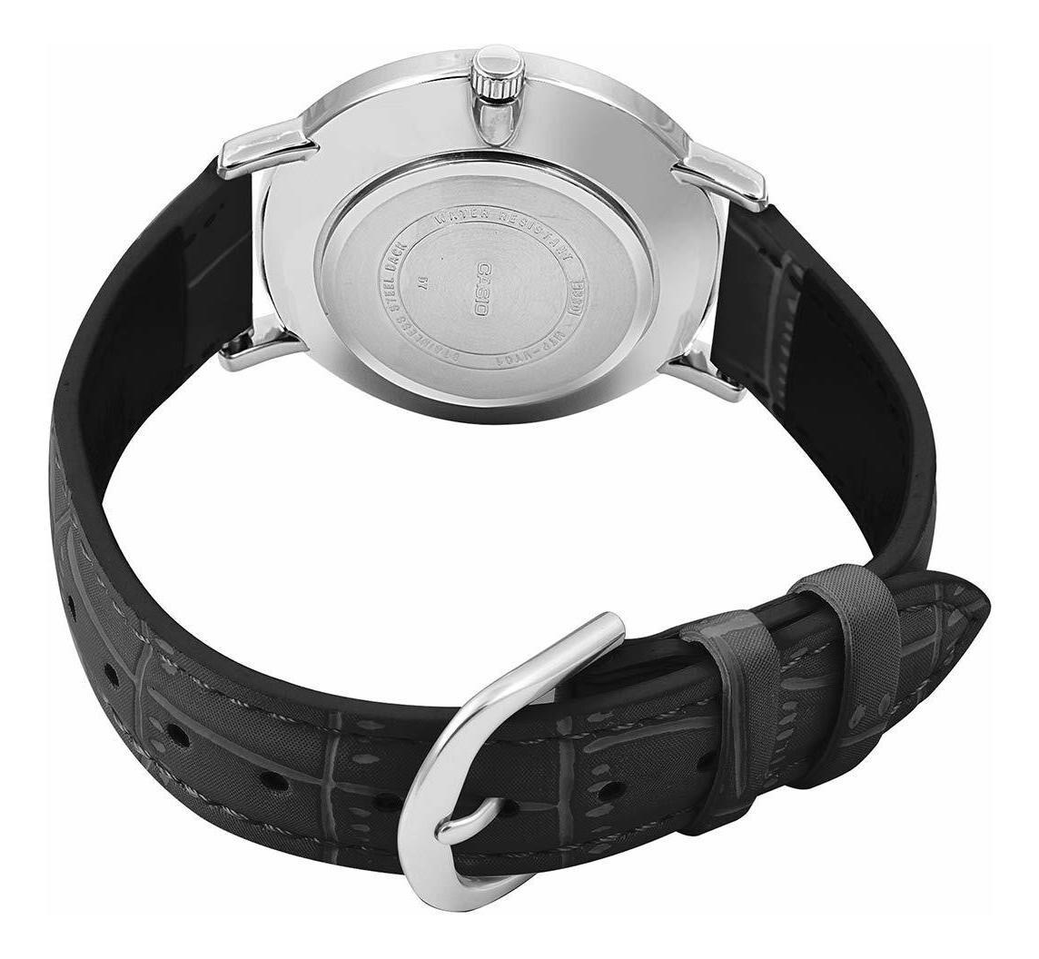 Reloj Casio analogico MTP-VT01L-1B correa de piel
