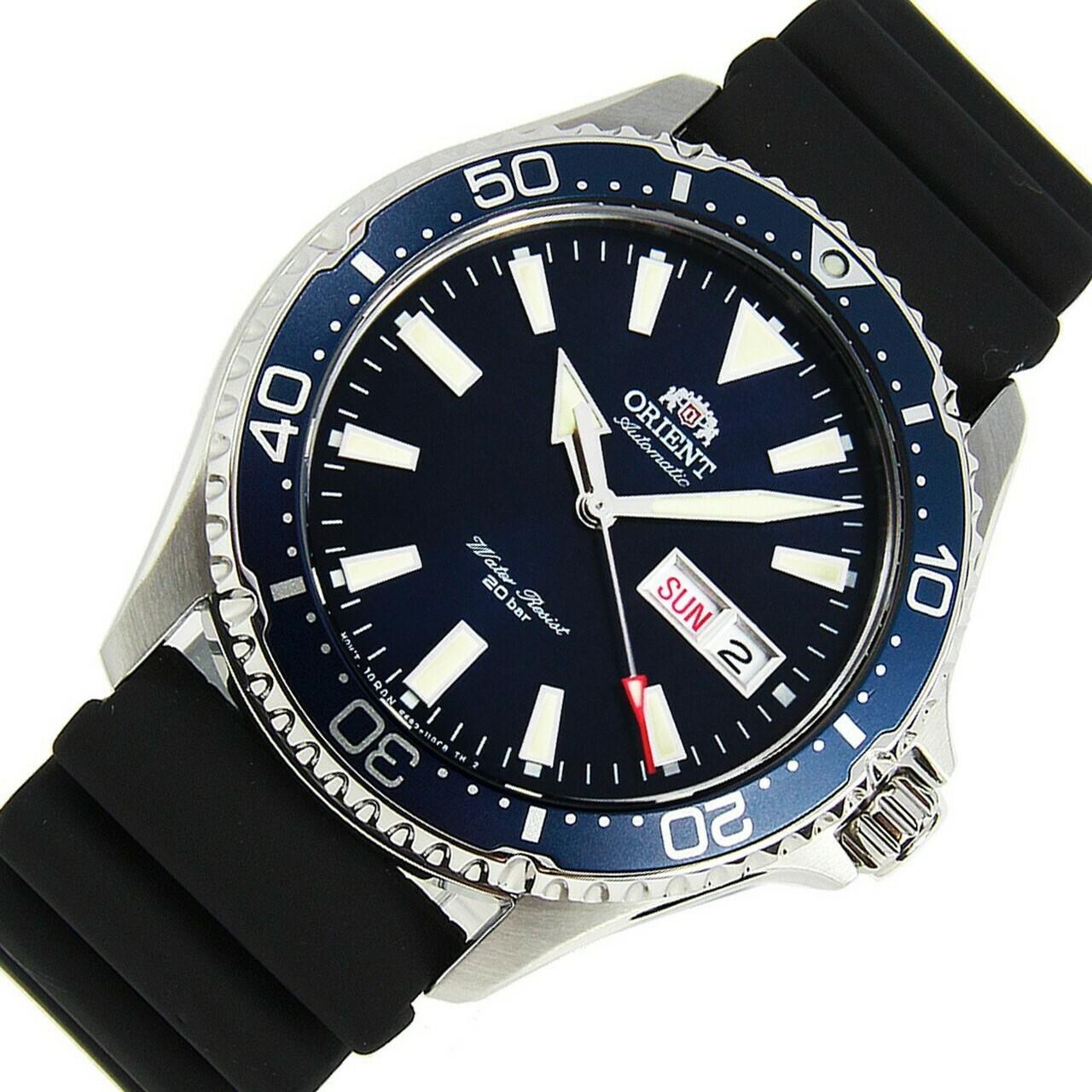 Reloj Automático Hombre Orient Kamasu RA-AA0006L Mako III buceo correa goma