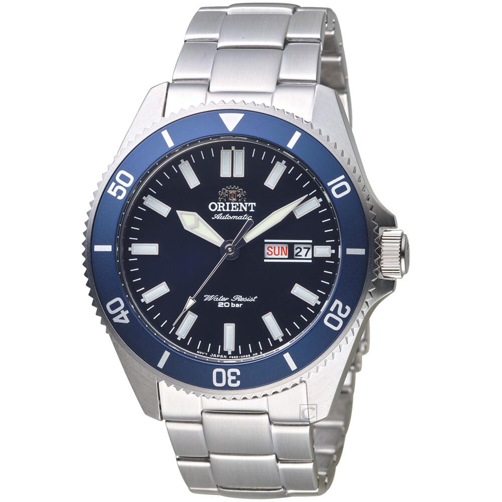 Reloj Automático Hombre Orient Kano RA-AA0009L Mako III buceo acero