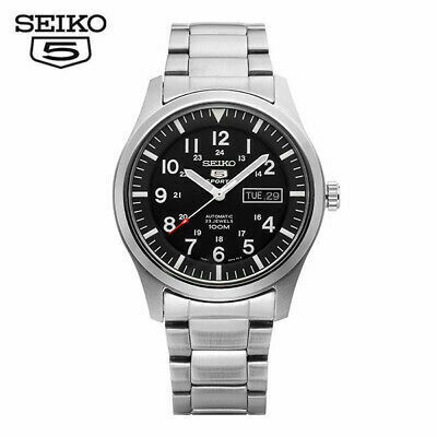 Reloj Automático Hombre Seiko 5 Sports SNZG13K1 correa acero