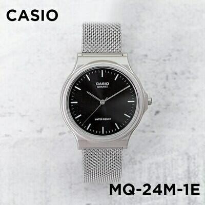 RELOJ Casio analogico MQ-24M-1E Silver 38mm